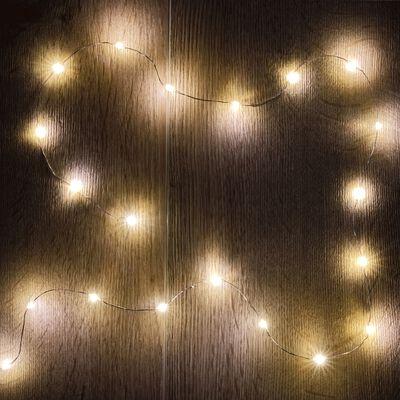 Guirlande électrique - D1x95cm jaune-LECITA