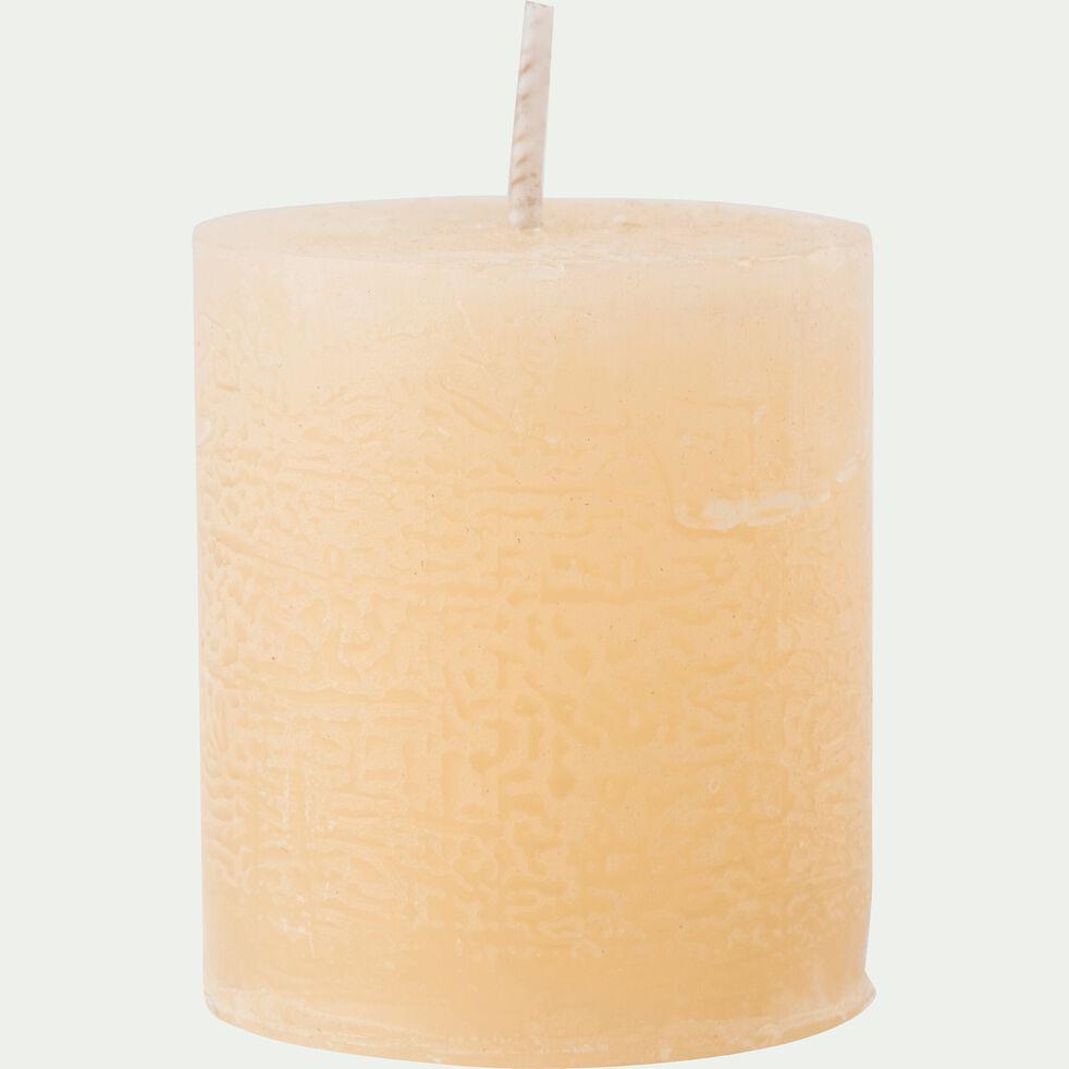 Bougie votive coloris beige estérel H4,5cm-BEJAIA