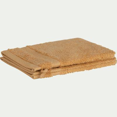 Lot de 2 gants en coton beige nèfle-AZUR