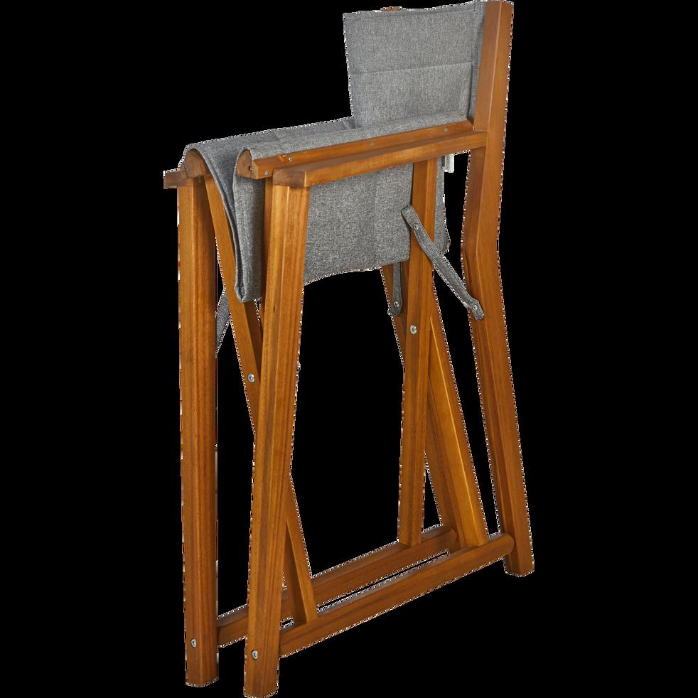 Fauteuil de jardin r gisseur en acacia gris alassio fauteuils de jardin alinea - Alinea fauteuil jardin ...