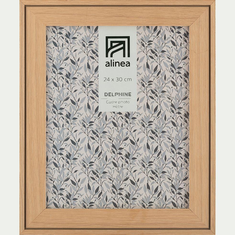 Cadre photo en hêtre 24x30 cm-DELPHINE