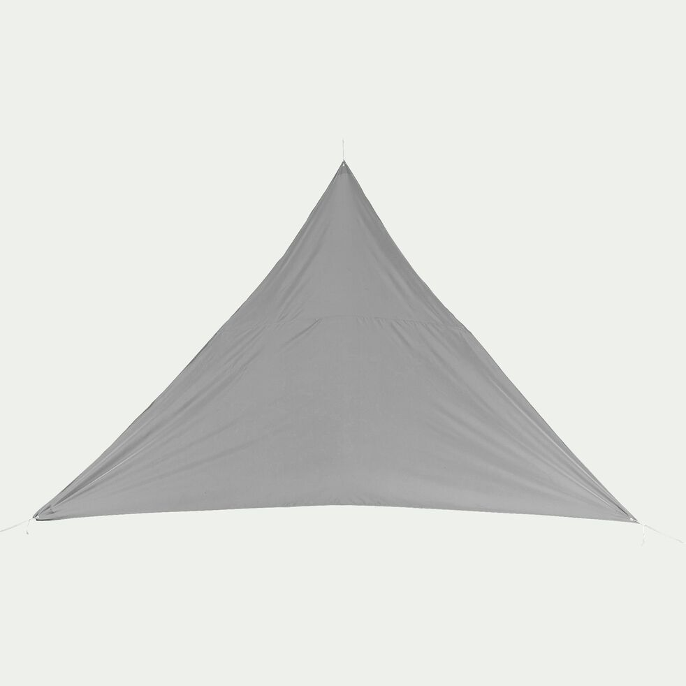 Voile d'ombrage triangle 3,6m - gris vesuve-Rosa