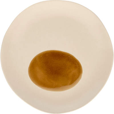 Assiette à dessert en porcelaine blanche D19cm-PLEIADE
