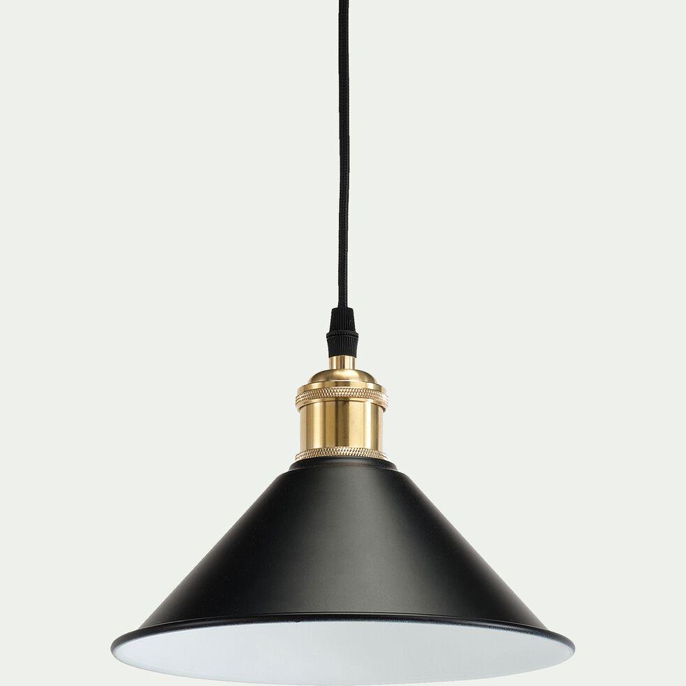 Suspension électrifiée en métal - noir D22xH100cm-GIULIAN