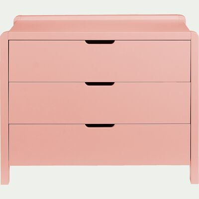 Commode 3 tiroirs - rose-JAUME