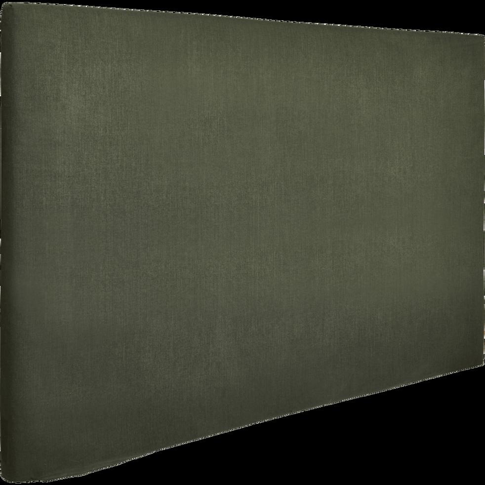Housse pour tête de lit Topaze Vert cèdre - L90 cm-TOPAZE