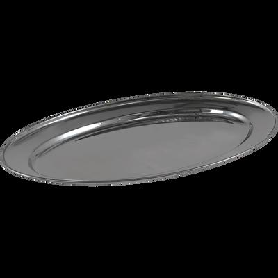 Plat ovale en acier inoxydable 45cm-GALO