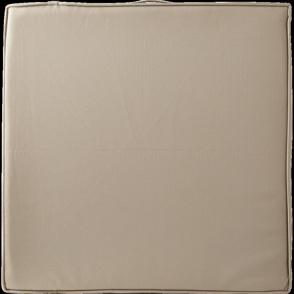 Matelas de bain de soleil déperlant beige 174x58x4cm-MAJORQUE