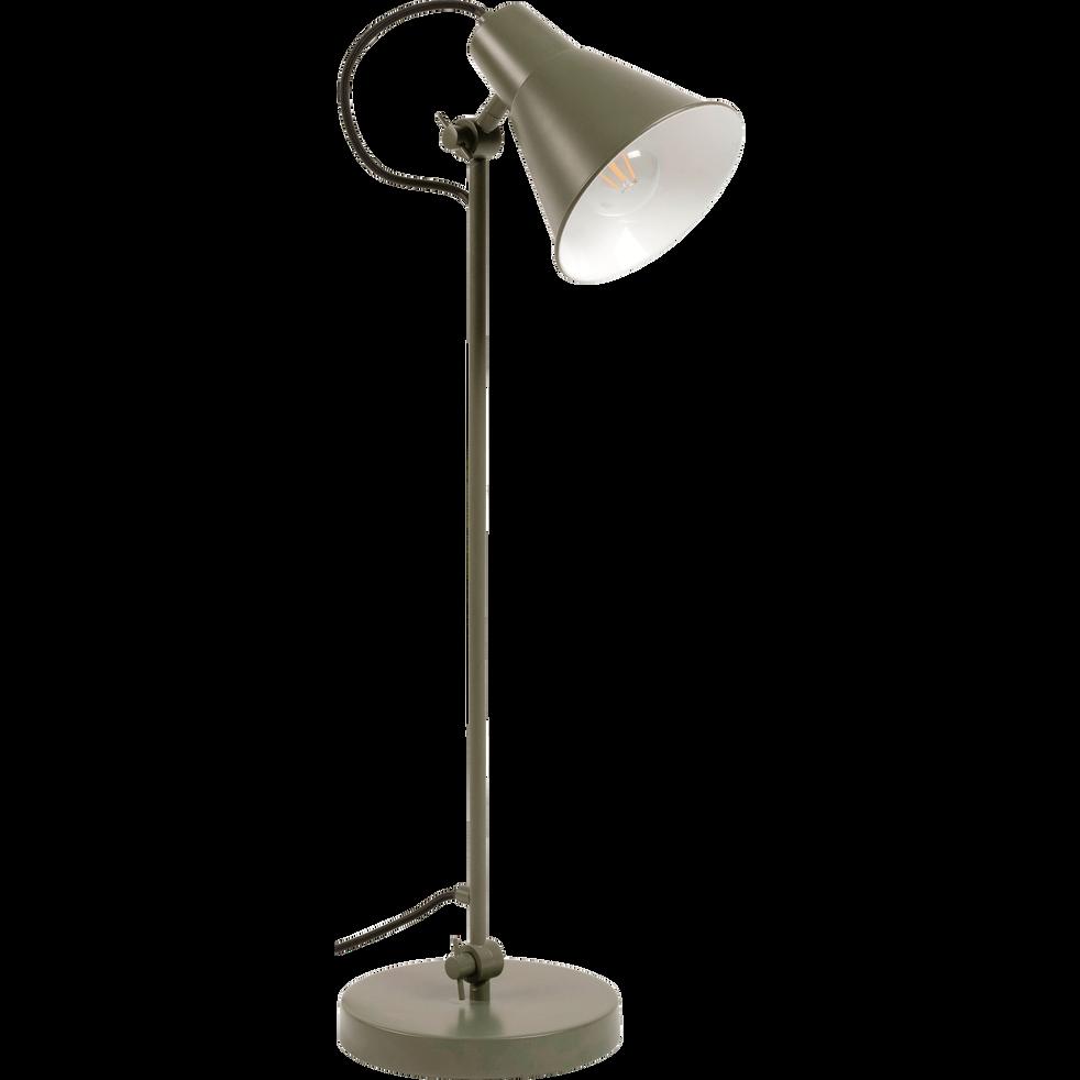 Lampe à poser vert cèdre H65cm-BEYA