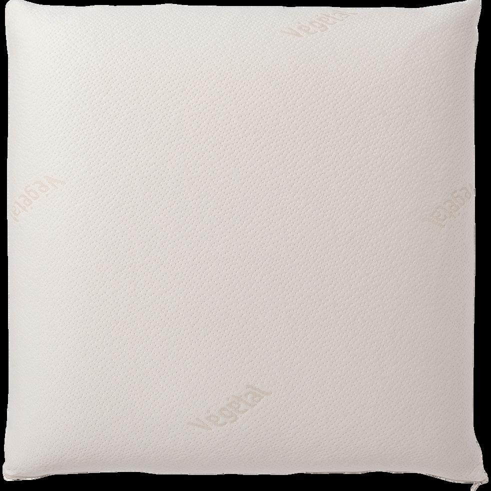 Oreiller synthétique mémoire de forme - 60x60 cm-Nomade