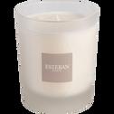 Bougie parfumée senteur verveine douce h9.5cm-ESTEBAN