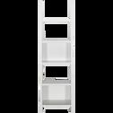 Étagère blanche 5 tablettes-SWAG