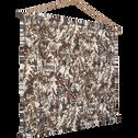 Kakemono décoration murale à motifs marron 100x80cm-Eigarella