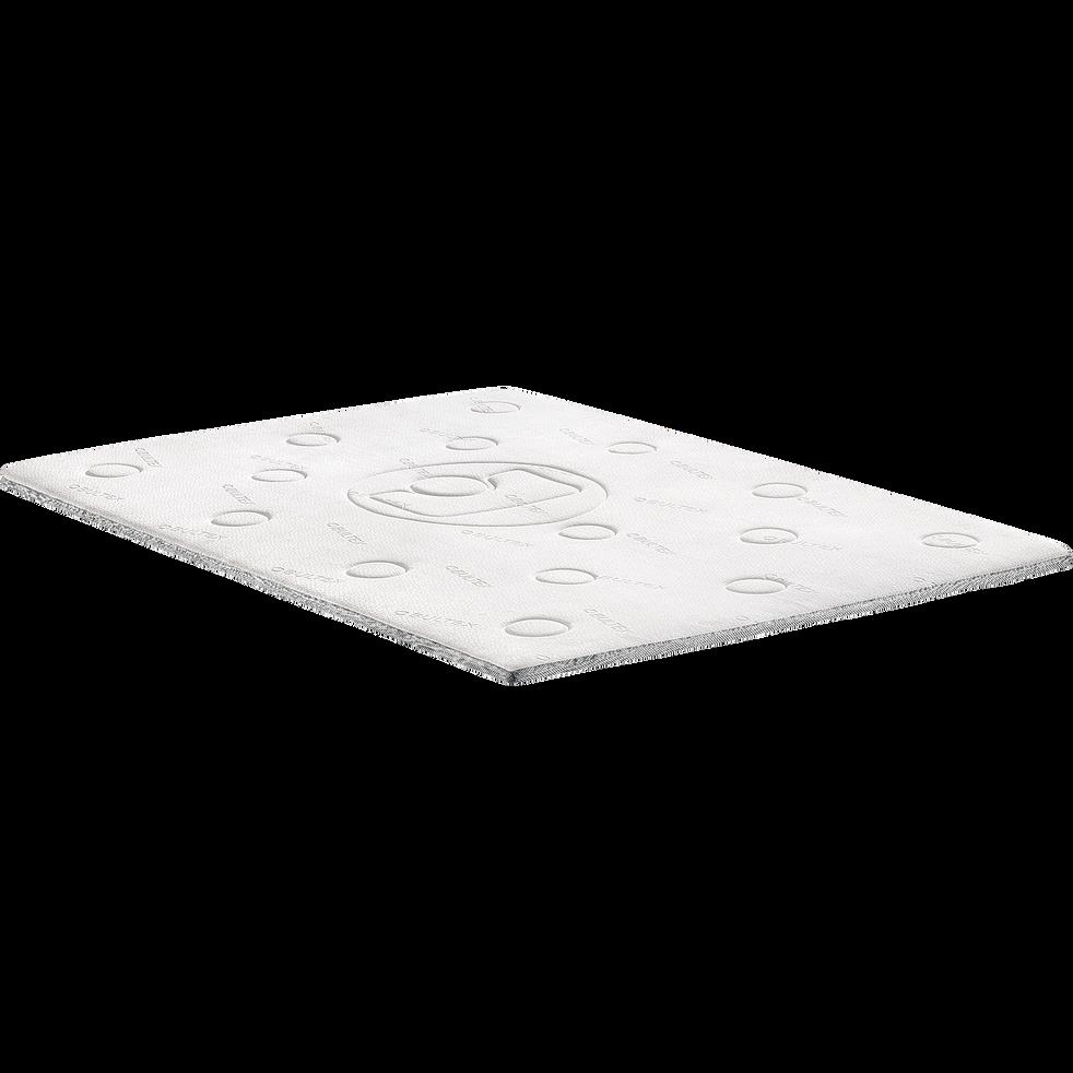 Surmatelas mousse mémoire de forme Bultex 5 cm - 140x190 cm-MEMO 5