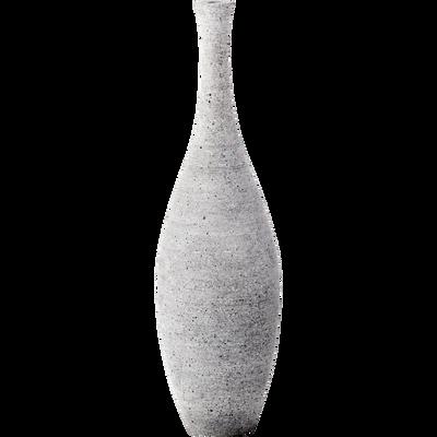 Vase effet béton H37cm-CALCIS