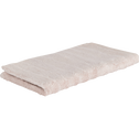 Serviette invité en viscose et coton 30x50cm rose grège-AUBIN