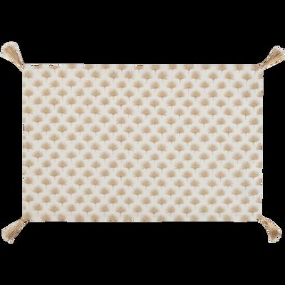 Set de table en coton décoré 45x30cm-MIDES