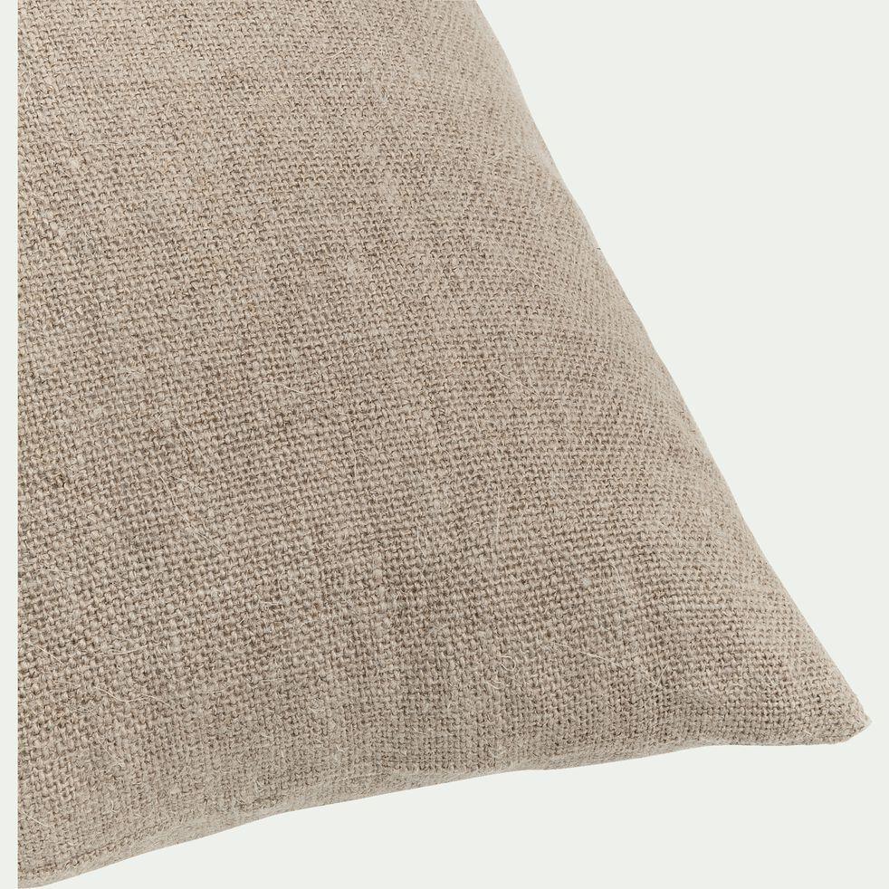 Coussin en lin - naturel 40x60cm-CAMPA