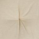 Galette de chaise ronde beige roucas D40cm-CALANQUES