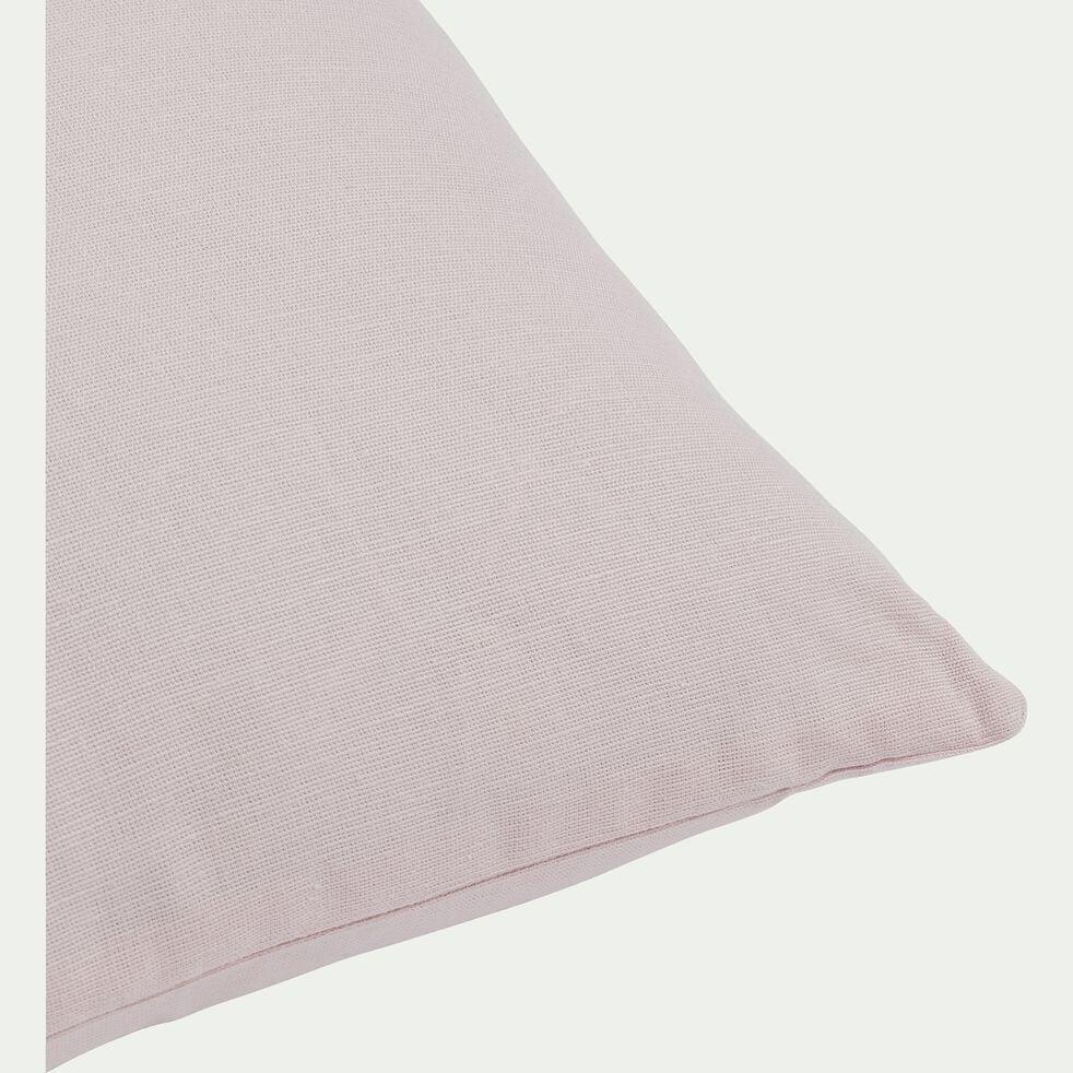 Coussin en coton - rose simos 40x60cm-CALANQUES