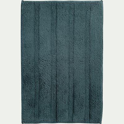 Tapis de bain en coton antidérapant - l50xL80cm vert-Gabin