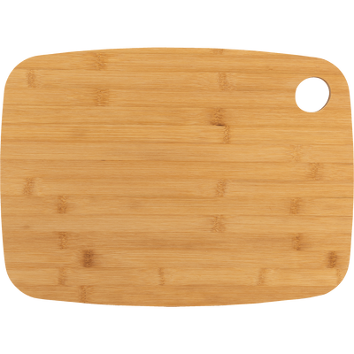 Planche à découper bi-matière en bambou verte 38x28cm-RIOU