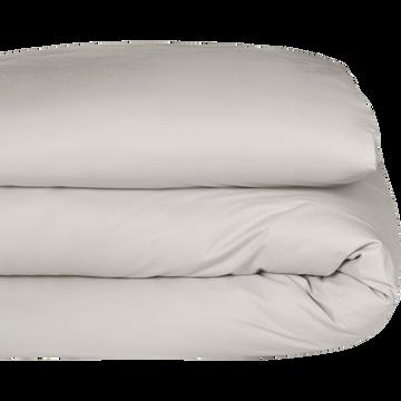 Housse de couette en coton beige roucas 140x200cm-CALANQUES