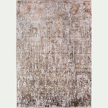 Tapis à motif - marron 160x230cm-AMMAN
