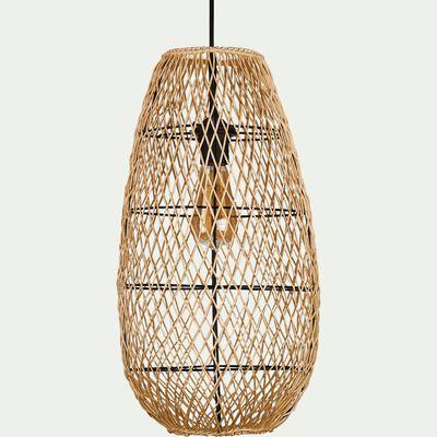 Suspension en bambou D25xH50cm-CAROUBIER