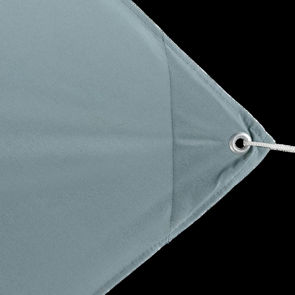 Voile d'ombrage carré 3,6m - bleu calaluna-Rosa