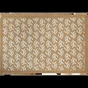 Set de table en jute à motif cyprés 30x45cm-UZES