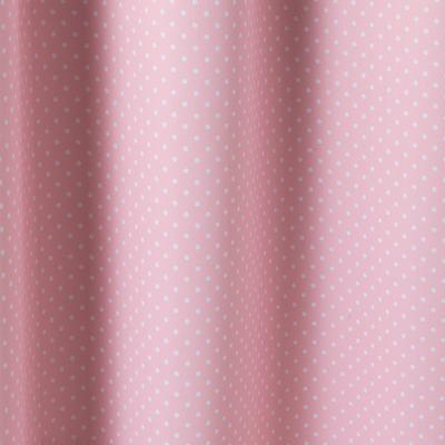 Rideau occultant rose motifs pois 140x240cm pour enfant-POIS