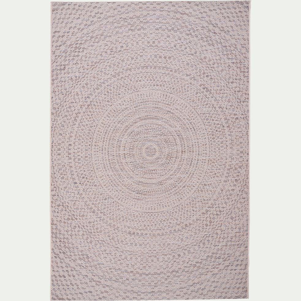 Tapis intérieur et extérieur - écru 160x230cm-HYPNOSE