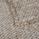 Plaid en polyester effet fourrure blanc 130x170cm-THI