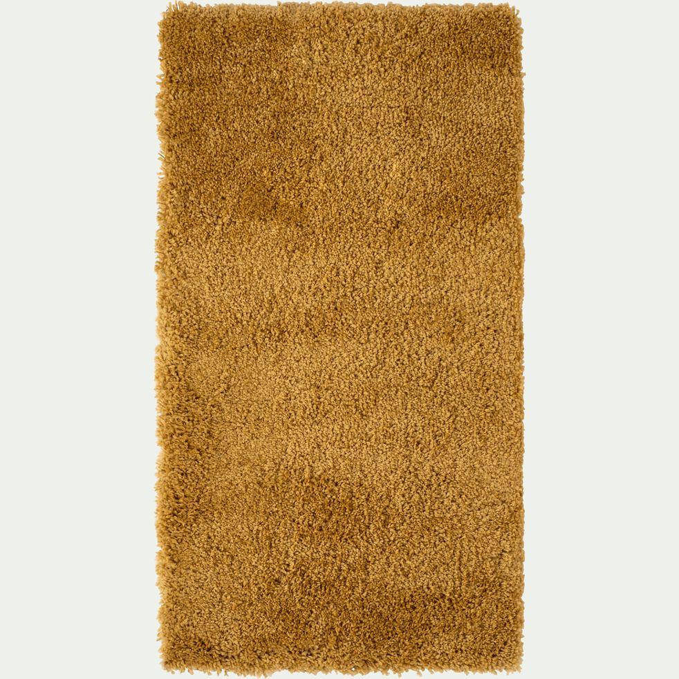 Descente de lit à poils longs - beige nèfle 60x110cm-KRIS