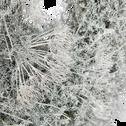 Couronne blanche de fleurs d'asperge D36cm-SIAM