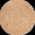 Set de table rond en fibre de palmier D35cm-ARAL