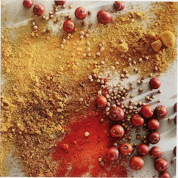 Image d'épices plexi L45xl45cm - rouge-CEBO