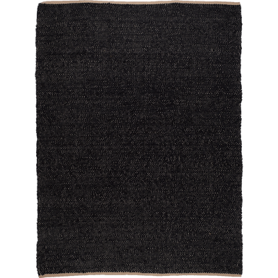 Tapis tissé naturel et noir 160x230cm-ADAM