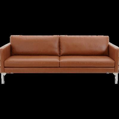 canap s droits en cuir mobilier et d coration alinea. Black Bedroom Furniture Sets. Home Design Ideas