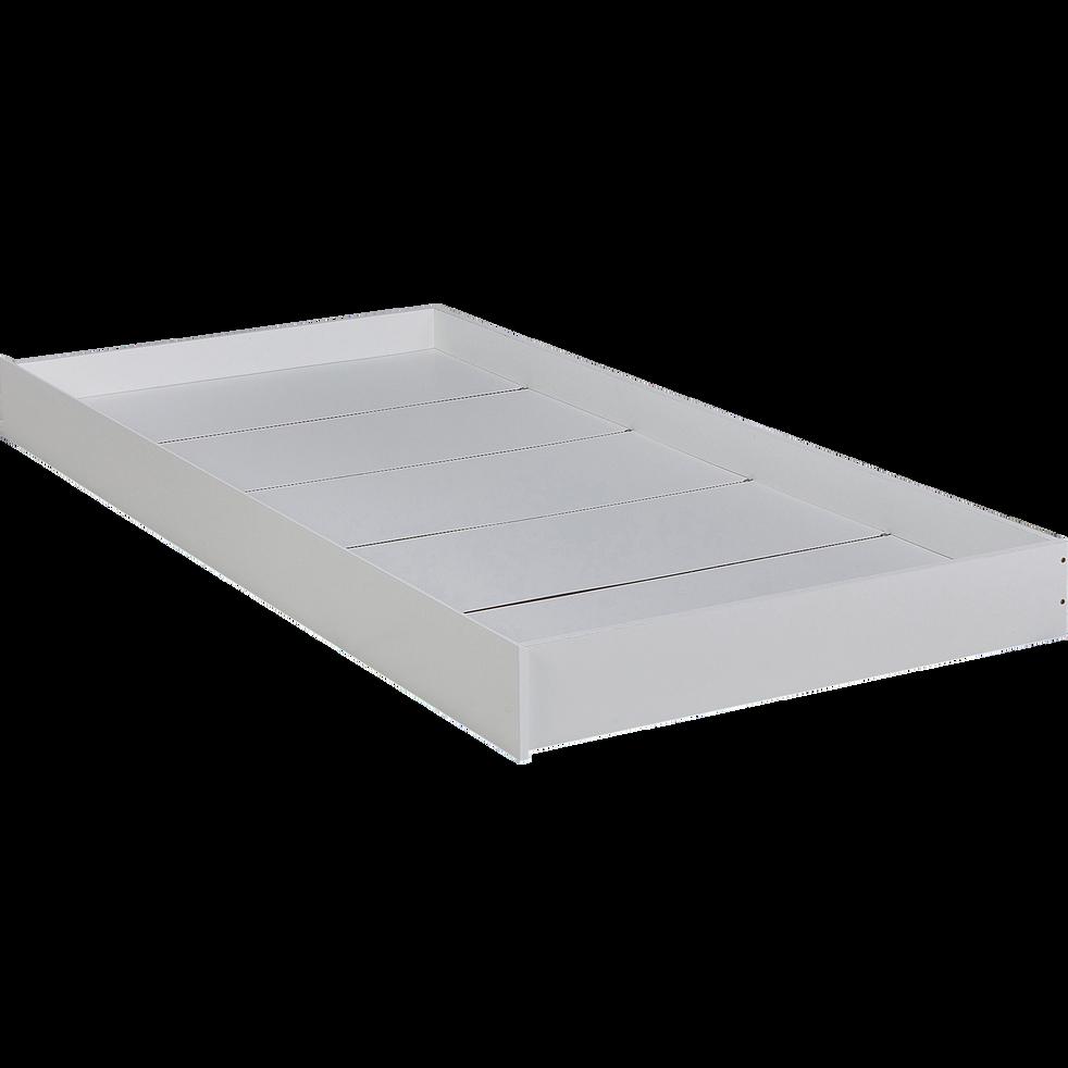 Tiroir de lit pour lit tipi blanc-TIPI