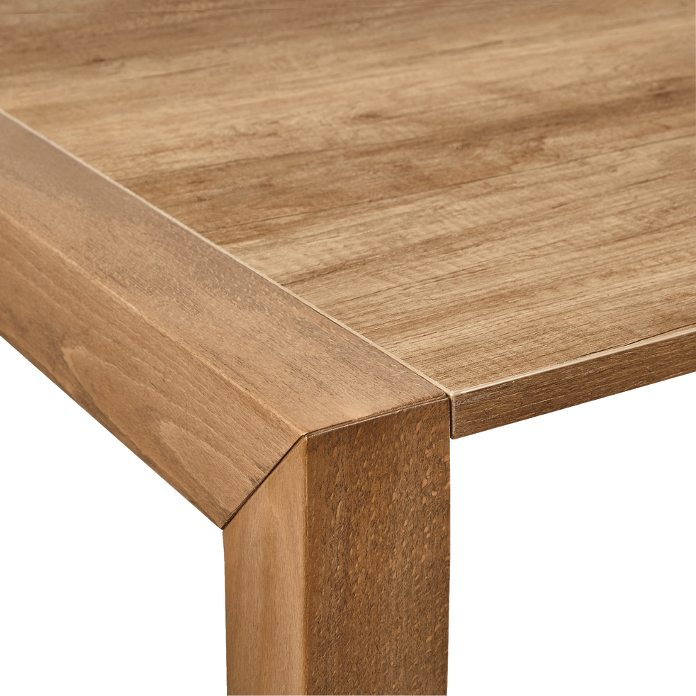 table de repas extensible effet ch ne 6 12 places. Black Bedroom Furniture Sets. Home Design Ideas