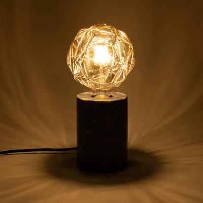 Ampoule décorative LED D12,5cm culot E27-FACETTE