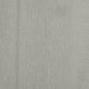 Voilage à oeillets vert olivier 135x250cm-DUNE