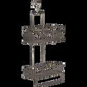 Étagères de douche en métal-SATURNIN