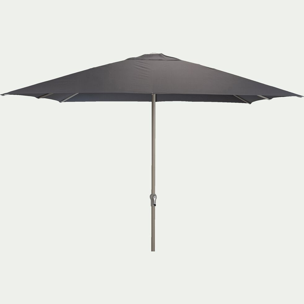 Parasol avec manivelle L3xl3m - gris-UMBERTA
