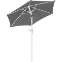 Parasol orientable gris D210cm-TILT