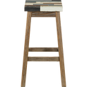 Tabouret de bar en sapin massif - H76cm-MANAKA