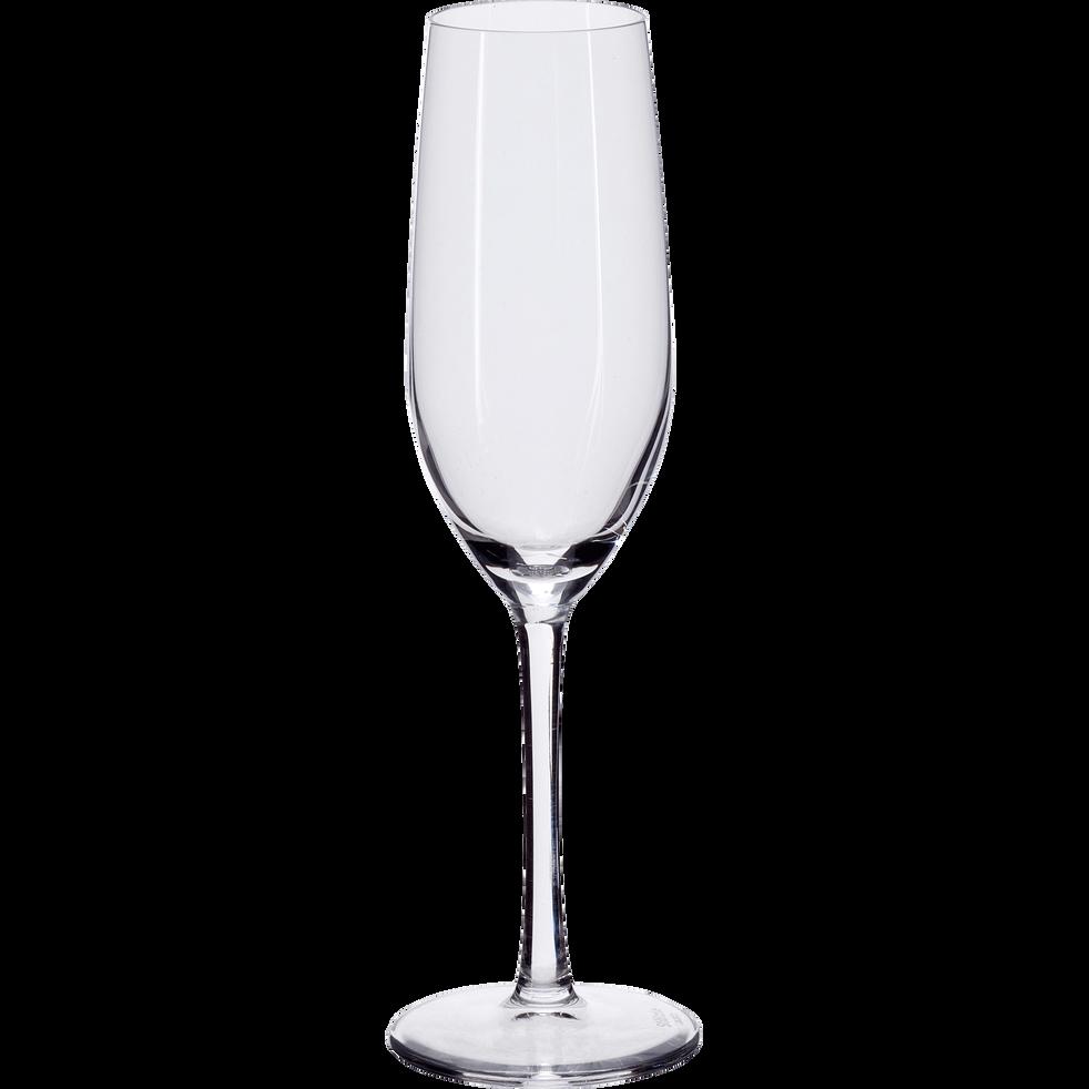 hema flute champagne