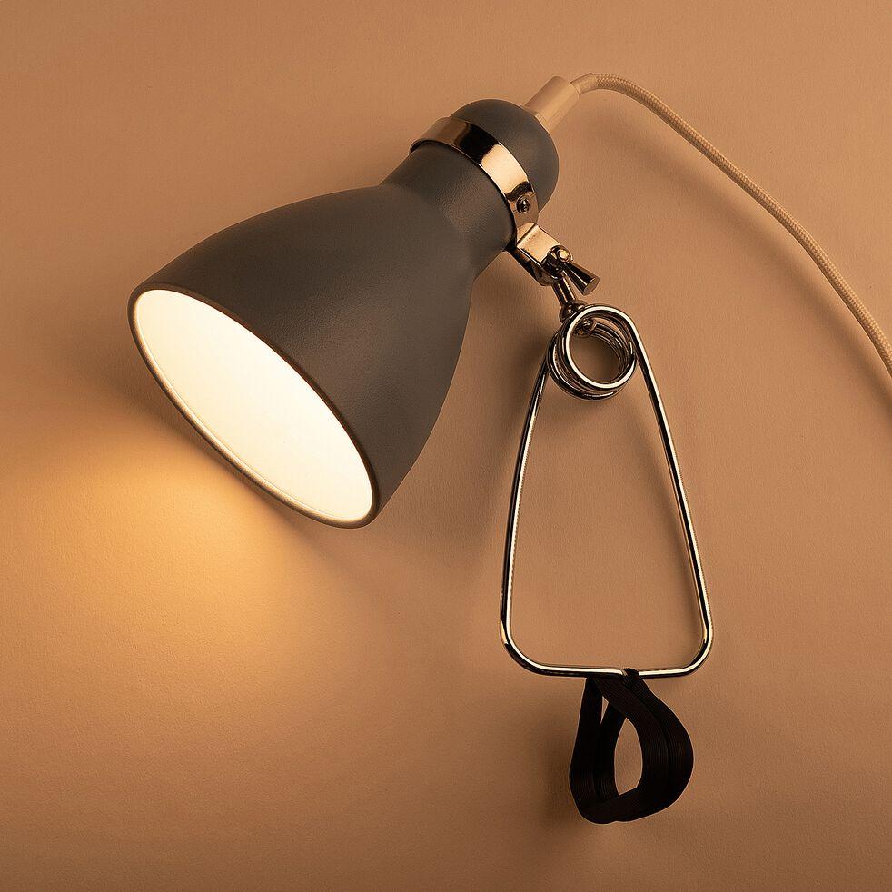 Lampe à pince - bleu h29,5cm-Bonnie